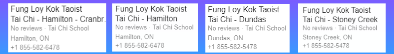 local listing tai chi near me