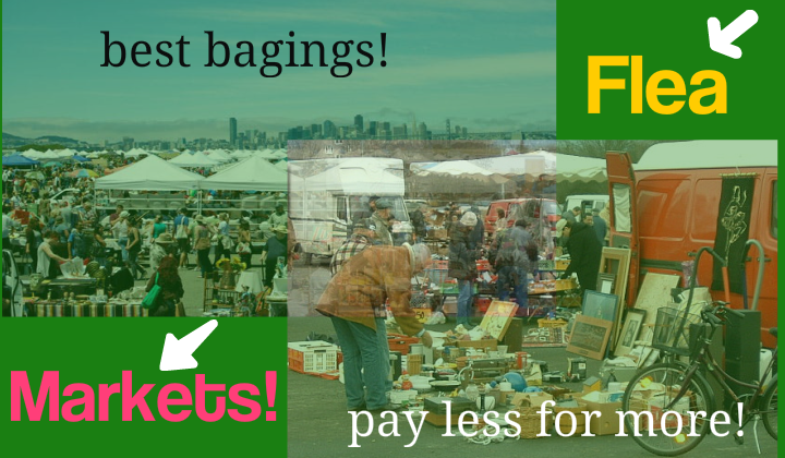 Flea markets near me pay less get more