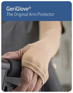 Prevent Products, Inc. – GeriGlove® The Original Arm Protector | Protects Thin Skin Tears, Bruising, Abrasions & MORE! (Small, Beige)