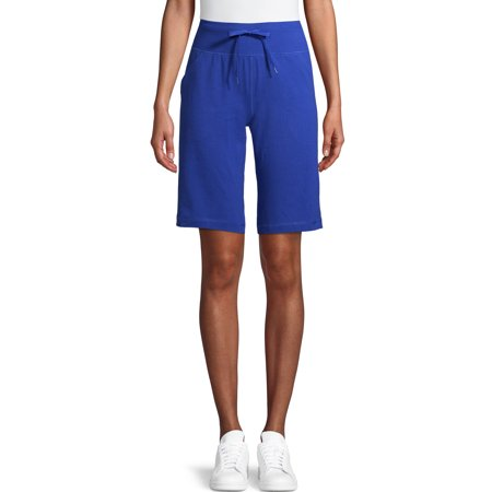 """Athletic Works Women's Athleisure 12"""" Bermuda with Pockets"""
