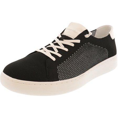 Calvin Klein Men's Freeport Knit Black Ankle-High Sneaker - 8.5M