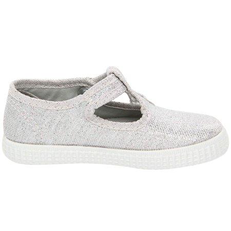 Cienta Kids Shoes 51000 (Infant/Toddler/Little Kid/Big Kid) Silver
