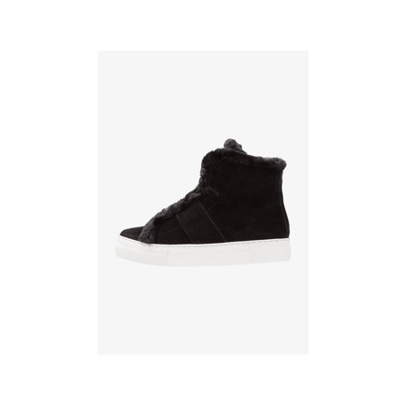 DKNY Womens Mason-High Top SNE Leather Hight Top Pull On Fashion Sneakers