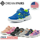 DREAM PAIRS Kids Sneakers Boys Girls Mesh Lace Up Sporty Tennis Shoes Youth Size