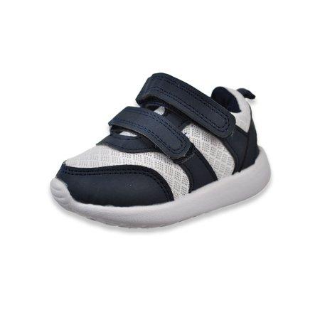 Gerber Baby Boys 2 Strap Slip On Sneakers (Infant/Toddler Boys)