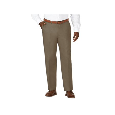 Haggar Men's Big & Tall Work to Weekend® Khaki Pant Classic Fit 41714957522