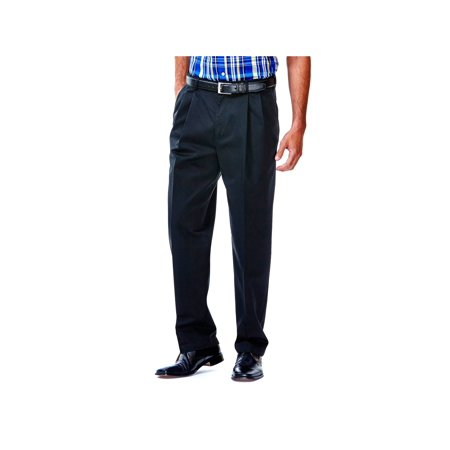 Haggar Men's Work To Weekend® Khaki Pleat Front Pant Classic Fit 41114957524