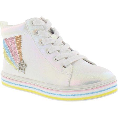 Jessica Simpson Casey Reigh High-Top Sneaker (Little Girls & Big Girls)