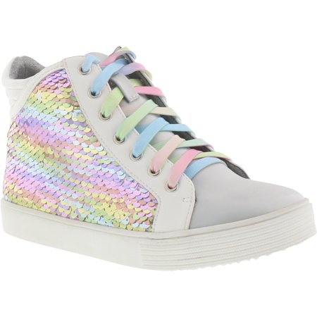 Jessica Simpson Tay Isabelle Pastel Rainbow High-Top Sneakers (Little Girls & Big Girls)