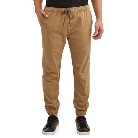 Lazer Men's Stretch Twill Pull On Jogger