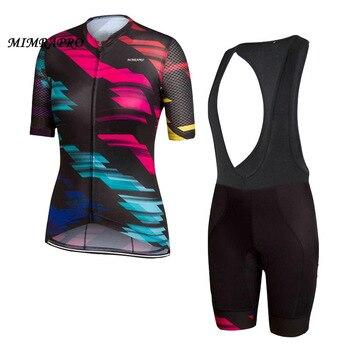 MIMRAPRO woman Cycling Jerseys Maillot Ciclismo MTB/Road Bike Clothing Bicycle Jerseys Tight Quick-drying
