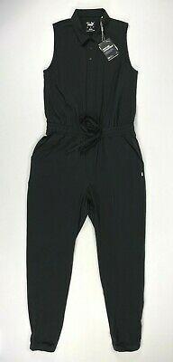 Puma Womens Golf Jumpsuit Black Ladies SZ S ( 597705 01 ) NEW!! See Measurements