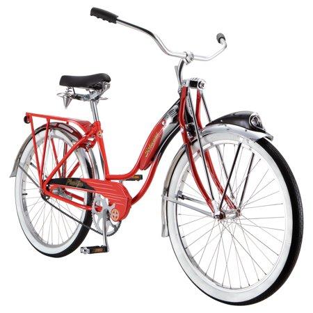 Schwinn Phantom Cruiser Bike, single speed, 26-inch wheels, red