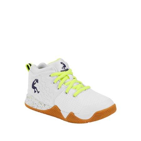 Shaq Neon Lace Up Mesh Athletic Sneaker (Little Boys & Big Boys)