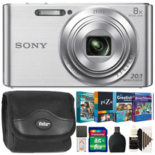 Sony CyberShot DSC W830 Digital Camera with Kids Photo Editing Collection Kit