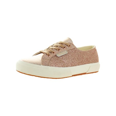 Superga Womens 2750 Glitter Low-Top Sneakers