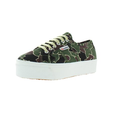 Superga Womens 2790 Canvas Low Top Sneakers