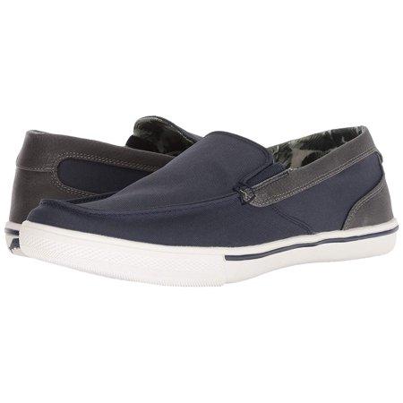 Tommy Bahama Mens Calderon Venetian Slip-on Loafer Sneaker (Navy, 10.5D)
