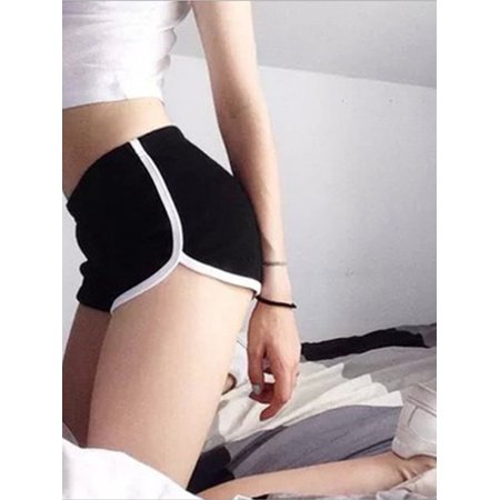 Women Yoga Shorts Side Striped Fitness Sports Gym Activewear Running Jogging Summer Beach Shorts Casual Lounge Hot Pants