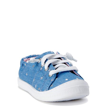 Wonder Nation Casual Bump Toe Sneaker (Toddler Girls)