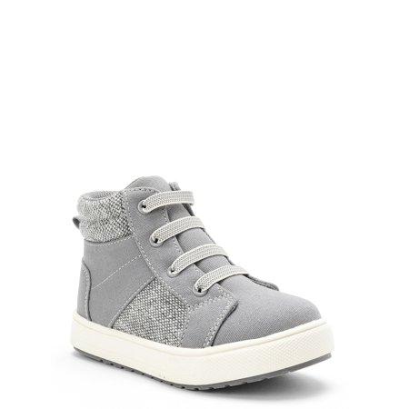 Wonder Nation Casual High-Top Sneaker Shoe (Toddler Boys)