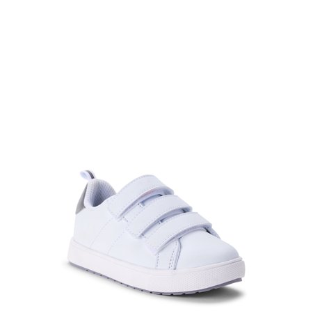 Wonder Nation Casual Triple Strap Court Sneakers (Toddler Boys)