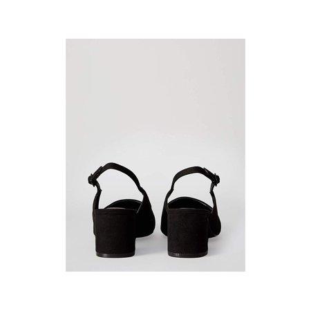 Amazon Brand - find. Women's Slingback Pump Black), US 7.5, Blue, Size 7.5