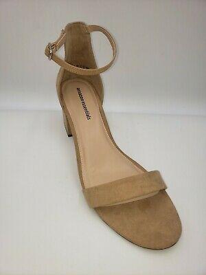 Amazon Essentials Women's Tan High Heel Shoes Size 13